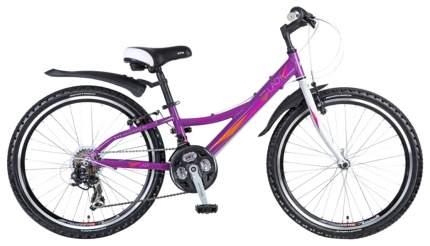 Велосипед NOVATRACK Lady 24 (2016) фиолетовый