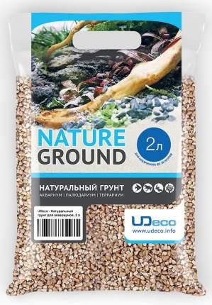 Натуральный грунт UDeco Canyon Beige - для аквариумов Бежевый гравий 4-6 мм (2 л)