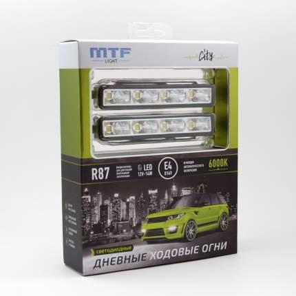 Дневные ходовые огни MTF-Light CITY 6000K