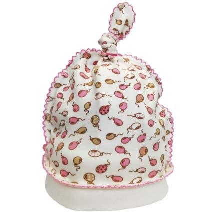 Шапка детская Папитто Гномик Воздушные шарики розовый р.40 И410-02
