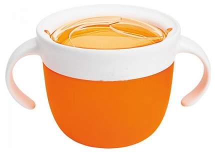 Контейнер с крышкой для хранения продуктов Munchkin Поймай печенье 12+ Оранжевый