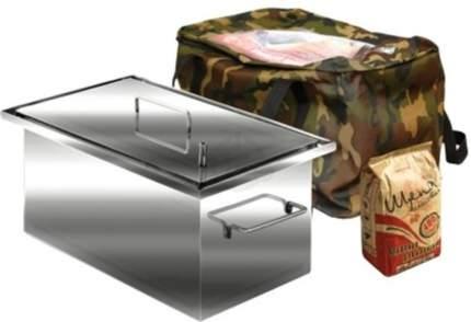 Коптильня с гидрозамком Эконом КЭ-5, 450х250х200мм, нерж, сталь 1мм