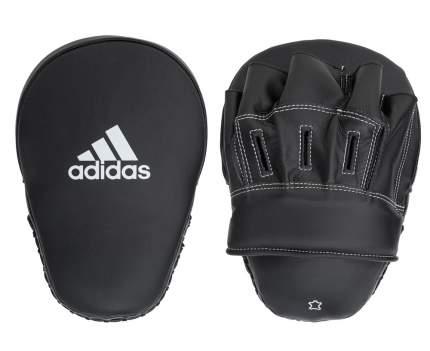 """Лапы Adidas Focus Mitt Leather 10"""" черные"""