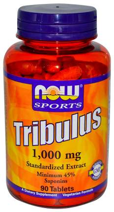Бустер тестостерона NOW Tribulus 90 табл. натуральный