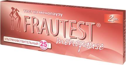 Тест Frautest menopause для определения менопаузы 2 шт.
