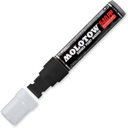 Перманентный маркер Molotow 640PP burner 20мм 40мл черный