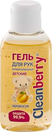 """Гель для рук антибактериальный детский Cleanberry """"Абрикосик"""" 60 мл"""