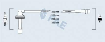 Комплект проводов зажигания FAE 85485