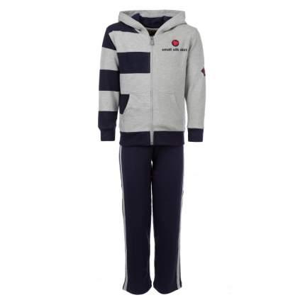 Спортивный костюм Small Silk Shirt темно-синий р.104