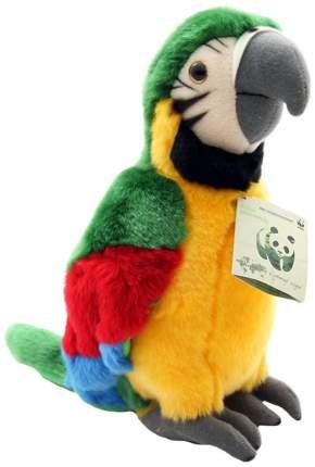 Мягкая игрушка птица WWF Зеленый попугай 15.170.014