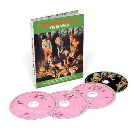 Jethro Tull This Was (The 50th Anniversary Edition)(3CD+DVD)