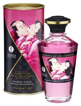 Массажное масло Shunga с ароматом малины 100 мл