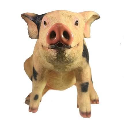 Фигура декоративная Свинка Сняпка L50W23H32см