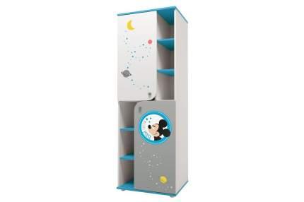 "Детский шкаф-пенал Polini Disney baby ""Микки Маус"", белый-серый"