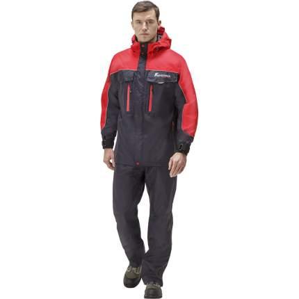 Куртка для рыбалки Nova Tour Fisherman Коаст Pro, графит, S INT, 176 см