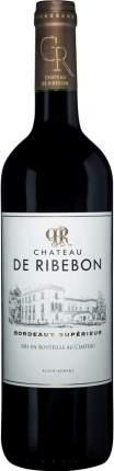 Вино Chateau de Ribebon Bordeaux Superieur AOC 2015