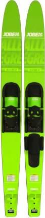 "Водные лыжи Jobe 2019 Allegre Combo Skis Lime Green 67"""