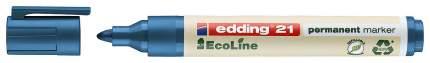 edding Перманентный маркер EcoLine, круглый наконечник, 1,5-3 мм, заправляемый