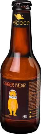 Имбирный эль Space Ginger Bear лимонад