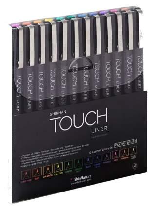 Набор линеров Touch Liner Brush, 12 штук