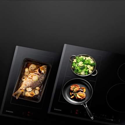 Встраиваемая варочная панель индукционная Samsung NZ64H57479K Black