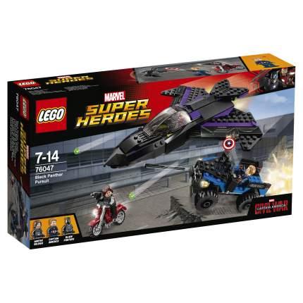 Конструктор LEGO Super Heroes Преследование Чёрной Пантеры (76047)