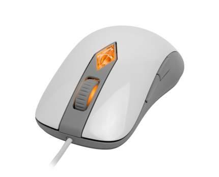 Проводная мышка SteelSeries SIMS4 White/Grey (62281)