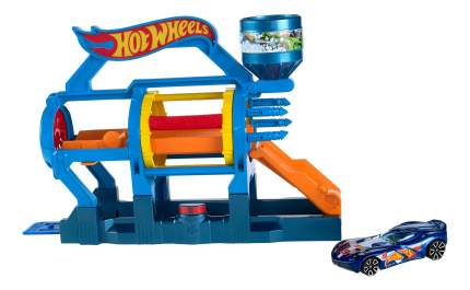 Автотрек Hot Wheels Турбо-автомойка DWK99 DWL00