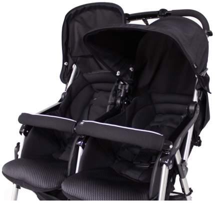 Коляска для двойни и погодок Combi Spazio Duo Black