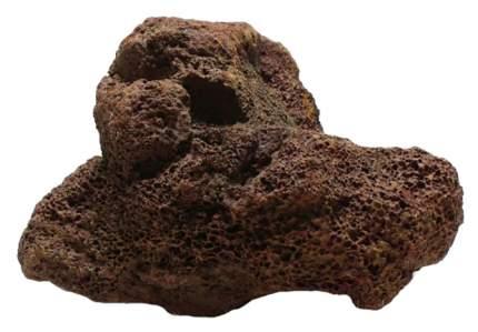 Brown Lava S Натуральный камень Лава коричневая 1шт