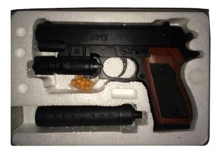 Пистолет игрушечный Power Device с Лазерным прицелом и Глушителем