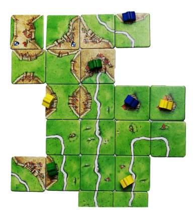 Настольная игра Каркассон, Средневековье (Carcassonne)