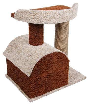 Комплекс для кошек PERSEILINE КАМЕЯ-6 (изба, 2 площадки) 50*40*50