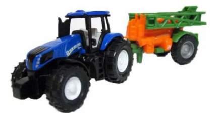 Коллекционная модель Siku Трактор New Holland T8,390 с прицепом Amazone UX5200