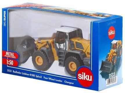 Коллекционная модель Siku бульдозер Liebherr R580