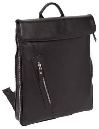 Рюкзак кожаный Lakestone Ramsey черный 5 л