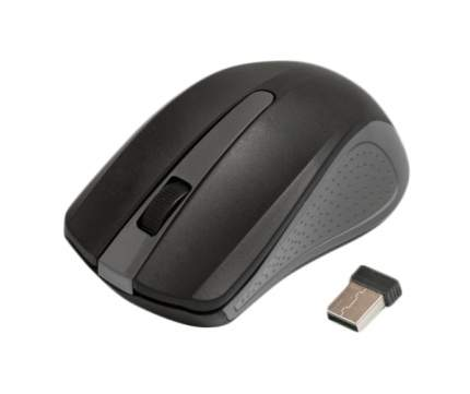 Беспроводная мышка Ritmix RMW-555 Grey/Black