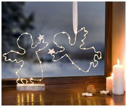 Световая фигура Frank Ангелочки со звездами с подсветкой 2шт. 06527