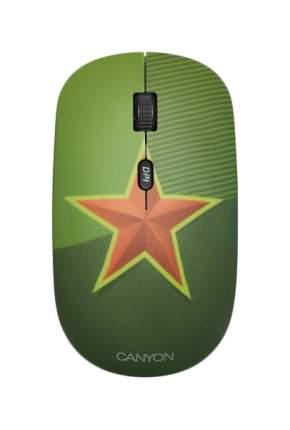 Беспроводная мышь CANYON CND-CMSW521SM Green/Red