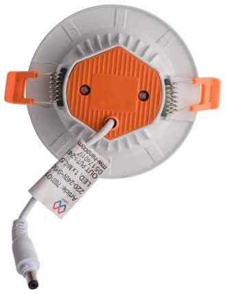 Встраиваемый светильник DeMarkt 702010301 Стаут 1х12W LED