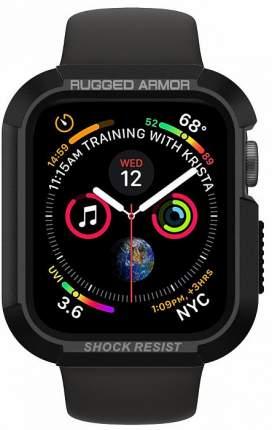 Чехол Spigen Rugged Armor (061CS24480) для Apple Watch series 4 40 mm (Black)