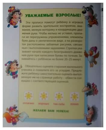 Прописи для Дошкольников, Развиваем навыки письма, Алфавит, 5-6 лет
