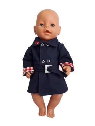 Набор одежды для кукол КоЛибри Плащик джинсовый Колибри 83 Синий