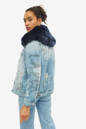 Куртка женская Guess W94N74-D3TZ0-GRF2 синяя S