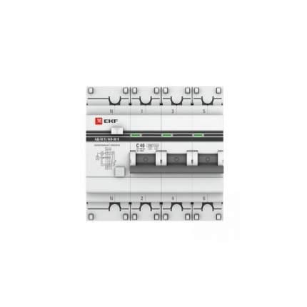 Дифавтоматы EKF DA32-40-100S-4P-pro