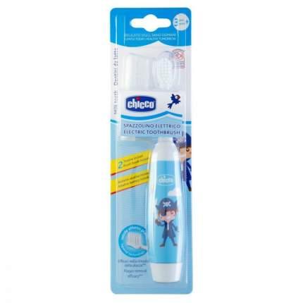 Зубная щетка электрическая детская Chicco синяя 3г+