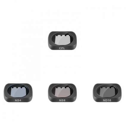 Набор фильтров Telesin для DJI OSMO Pocket 4шт. (CPL, ND4, ND8, ND16)