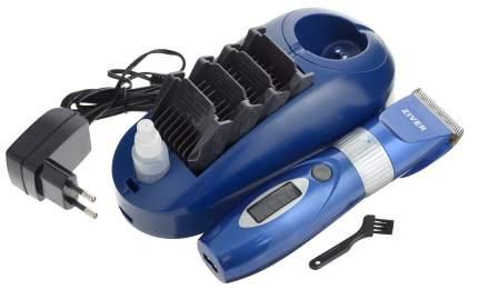 Машинка для стрижки домашних животных ZIVER 202, сталь, синяя, 15 Вт