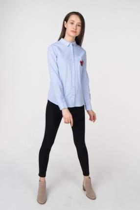 Рубашка женская Incity 1.1.2.18.01.04.00536 голубая 42 RU