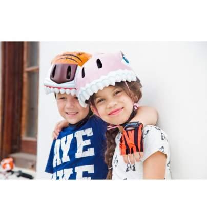 Шлем защитный детский Crazy Safety 2017 Pink Shark розовая